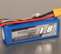 Turnigy 1800mAh 4S 30C Lipo pacote