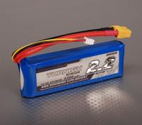 Turnigy 2200mAh 2S 30C Lipo pacote