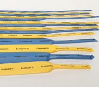 Turnigy 2 milímetros psiquiatra do calor Tubo amarelo (1mtr)