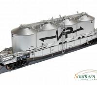 Southern Rail HO Scale Victorian FX1 3 Car Flour Hopper Set VR Logo (1966)