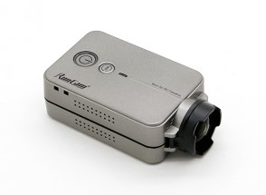 RunCam2 FULL HD 1440P 4MP 120 graus FPV Camera w / WiFi (Silver)