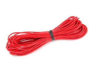 Turnigy High Quality 20AWG Silicone Wire 10m (Red)