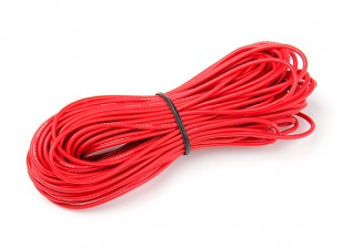 Turnigy High Quality 20AWG Silicone Wire 15m (Red)