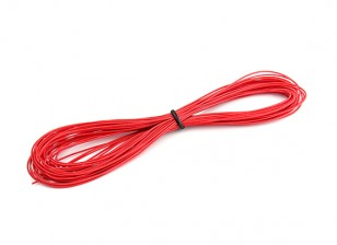 Turnigy High Quality 30AWG Silicone Wire 10m (Red)