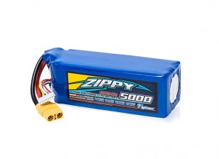 ZIPPY Flightmax 5000mAh 6S1P 30C With XT90