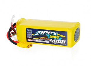 ZIPPY Compact 4000mAh 10S 25C Lipo Pack With XT90