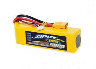 ZIPPY Compact 5800mAh 5S 25C Lipo Pack With XT90