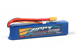 ZIPPY Flightmax 2200mAh 3S1P 25C w/XT60 (X-Thin)