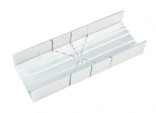 Zona fenda larga de alumínio Miter Box