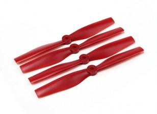 Nariz Diatone Touro policarbonato Hélices 6040 (CW / CCW) (vermelho) (2 pares)