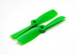 GemFan 4045 Bullnose GRP / Nylon Hélices (CW / CCW) Verde (1 par)