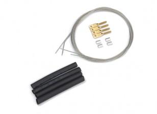 Puxe / Pull Steel Wire Set Control - 0,8 milímetros
