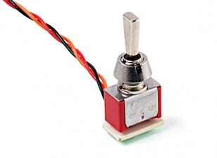 interruptor de posição de 3 vias para FS-i4X (short atuador)