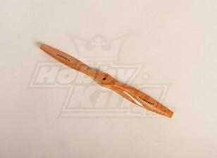 Turnigy Tipo D de madeira claro da hélice 11x7 (1pc)