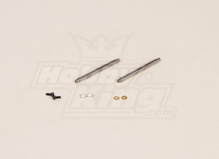 GT450PRO Feathering eixo (51x4mm) 2pcs