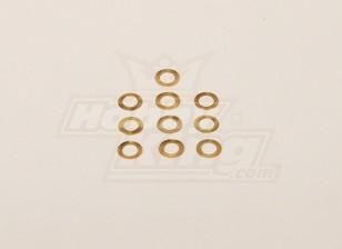 Copper lavadora 5x8x0.20mm (10pcs / saco)