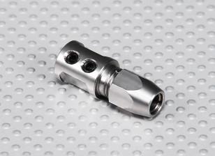 Eixo de aço Adapter - 5 milímetros Motor Shaft a 5mm Flexi Shaft