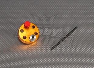 CNC perfuração Jig Set 6L (Broca 5,1 milímetros) Gold