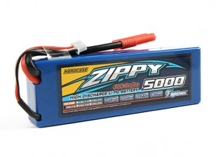 ZIPPY 5000mAh 2S1P 30C Hardcase pacote