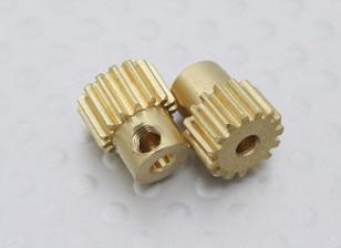 15T Motor Pinhão (2Pcs / Bag) - A2003, 110BS, A2010, A2027, A2028, A2029 e A2035