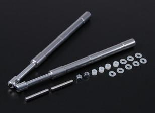 Alloy Oleo Strut 169mm Mains direto para 60 ~ 120 Classe 2pc