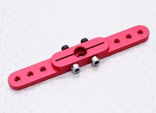 Pesado 2.5in Dever Alloy Pull-Pull Servo Arm - Futaba (vermelho)