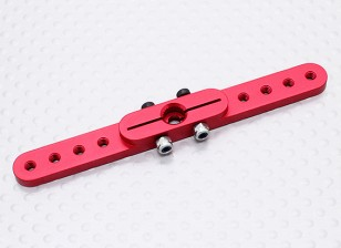 Pesado 3.0in Dever Alloy Pull-Pull Servo Arm - Hitec (vermelho)