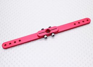 Pesado 4.5in Dever Alloy Pull-Pull Servo Arm - Hitec (vermelho)
