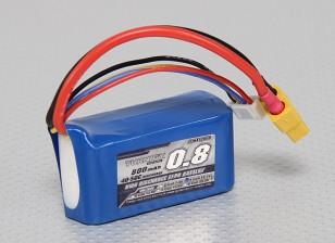 Turnigy 800mAh 3S 40C Lipo pacote