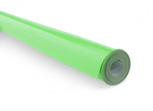 Film cobrindo - Verde Fluorescente 410 (5mtr)