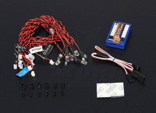 sistema Hobbyking Scale Car Light LED Avançada