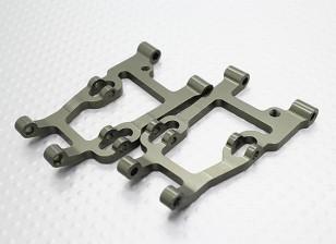 Alumínio Lower suspensão traseira Braço (2Pcs / Bag) - A2003T, A2027, A2029, A2035 e A3007