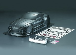 1/10 fibra de carbono Z4 Estilo Car Shell Corporal (190 milímetros)