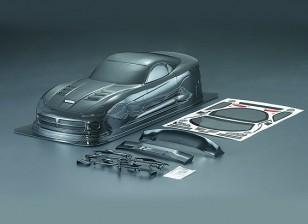 1/10 Viper SRT10 Carbon Fiber Estilo Car Shell Corporal (190 milímetros)