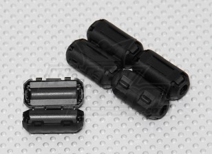 Clip On macias Ferrite Anéis (5pc)