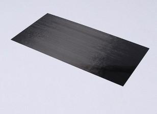 Carbono Folha de fibra 0,3 milímetros * * 150 milímetros 300 milímetros