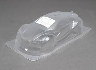 1/10 survol Unpainted Car Shell corpo w / decalques
