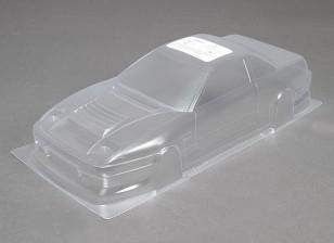1/10 Dm13 Unpainted Car Shell corpo w / decalques
