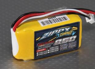 ZIPPY Compact 850mAh 2S 35C Lipo pacote