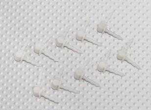 Hobbyking Bixler 2 EPO 1.500 milímetros - Substituição aileron Dobradiças (10pcs / saco)