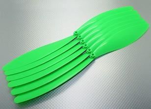 GWS EP Hélice (RD-1510 381X254mm) Verde (6pcs / set)