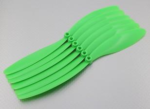 GWS EP Hélice (RD-1080 255x203mm) Verde (6pcs / set)