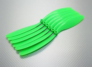 GWS EP Hélice (RD-9070 228x178mm) verde (6pcs / set)