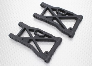 Frente Lower Susp. Arm - 1/10 Quanum Vandal 4WD Corrida Buggy (2pcs)
