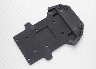 Frente Lower Chassis Plate - 1/10 Quanum Vandal 4WD Corrida Buggy