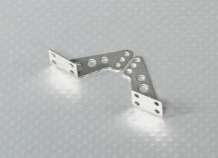 Aço inoxidável Controle Horns - 1pair / bag