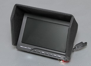 7 polegadas 800 x 480 TFT LCD Monitor de FPV com LED Backlight FieldView 777