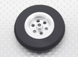 Turnigy Scale Jet Alloy Roda Fina w / Rubber Tire (45 mm)