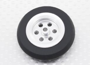 Turnigy Scale Jet Alloy 39 milímetros roda w / Rubber Tire