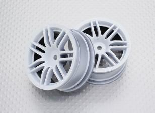 Escala 1:10 de alta qualidade Touring / tração Rodas RC 12 milímetros Car Hex (2pc) CR-RS4W